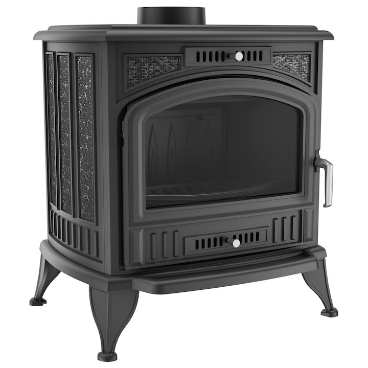 Kratki Koza K6 Wood Stove - Black
