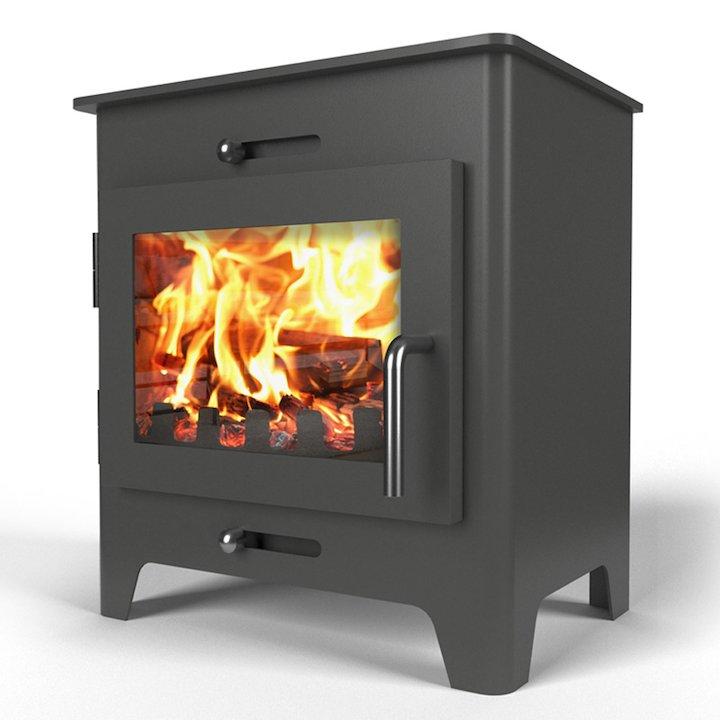 Saltfire ST1 Wood Stove - Charcoal