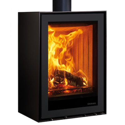 Stovax Elise 540 Tall Plinth Wood Stove