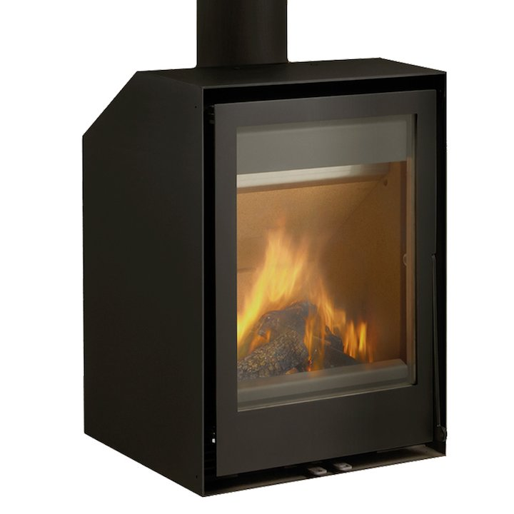 Rocal ARC 40V Wood Stove - Black