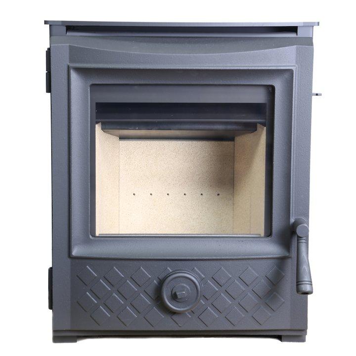 ESSE 301 Multifuel Inset Stove Black Traditional Door - Black