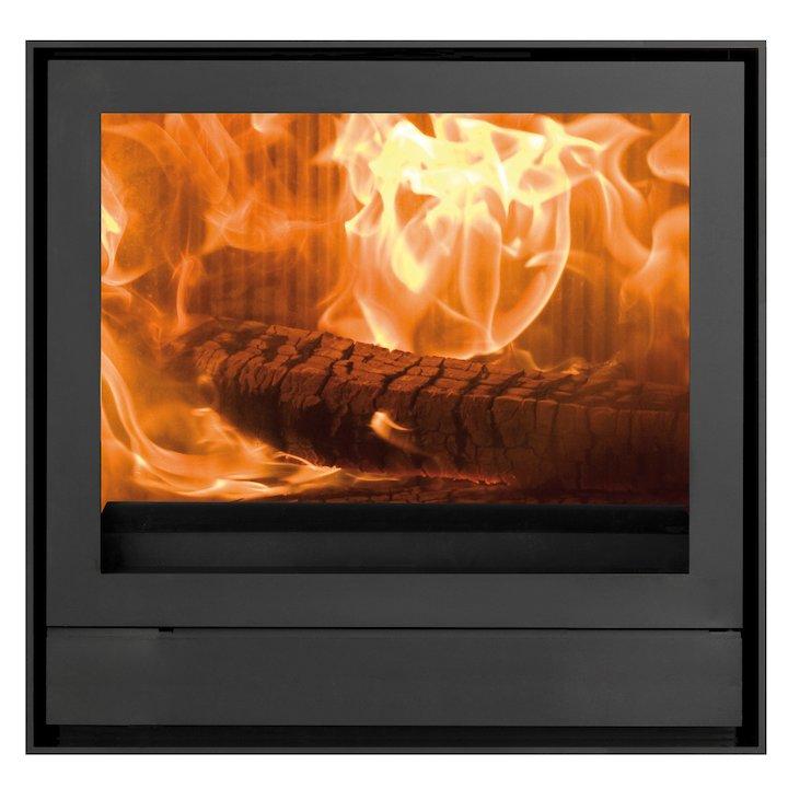 Nestor Martin IQ43 Wood Cassette Fire Black Frameless/Edge - Black