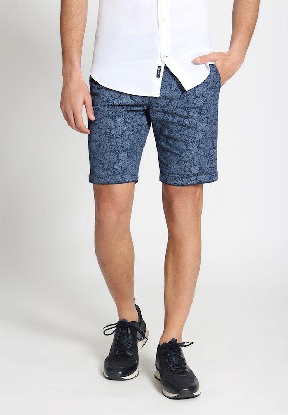 Pantalón corto cachemir - Blue