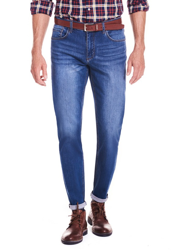 Pantalón 5bols denim regular