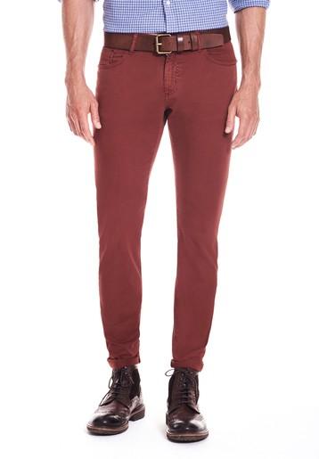 Pantalón 5 bols gabardina slim