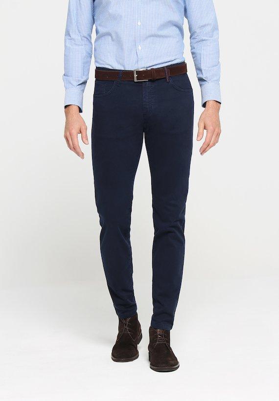 Pantalón 5 bolsillos slim