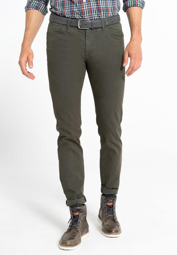 Pantalón 5 bolsillos micro estructura híbrido