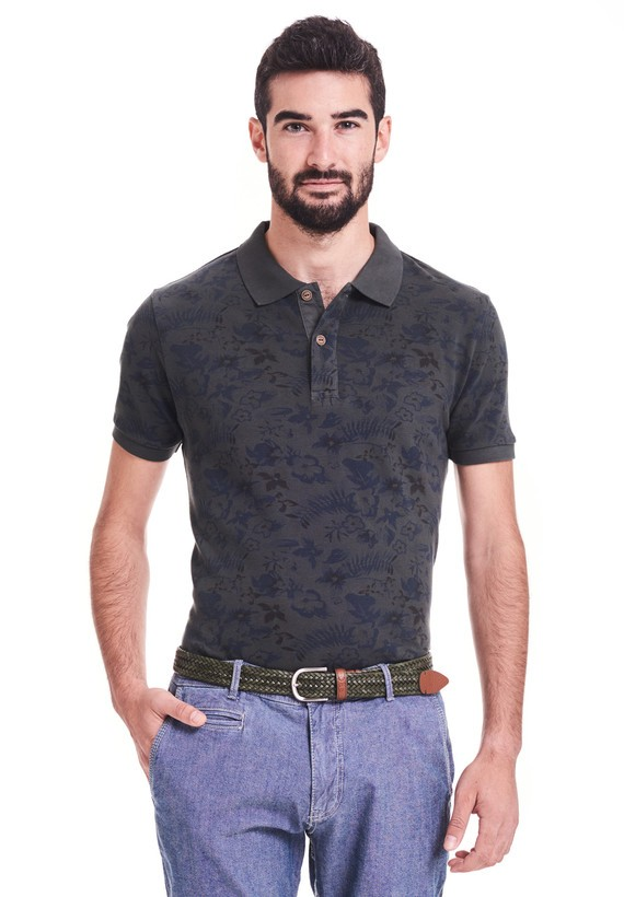 Polo de piqué, regular fit