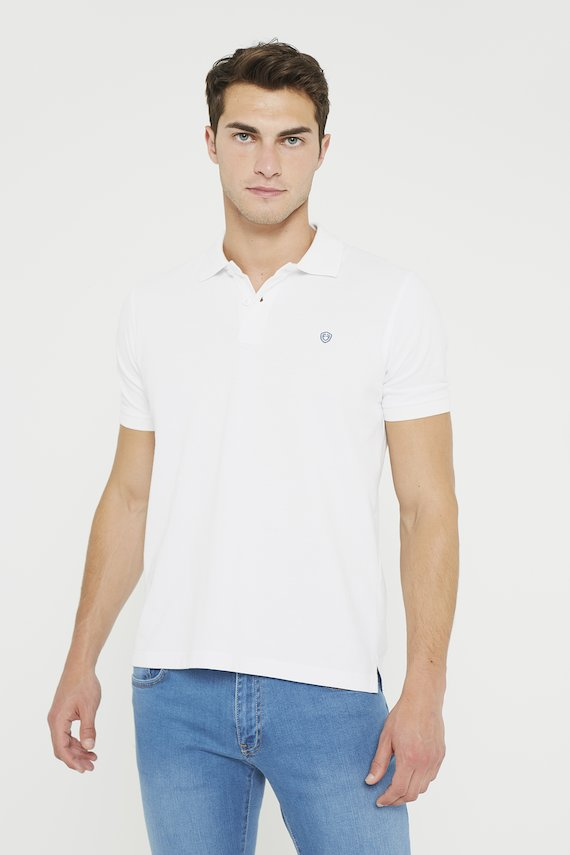 POLO BLANCO LISO