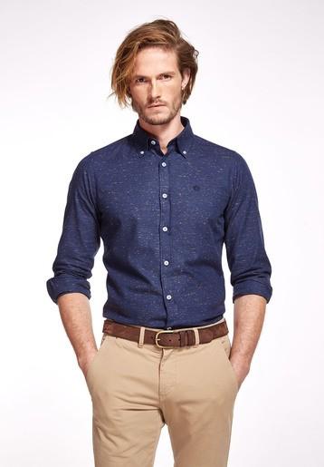 Camisa algodón marras multicolor