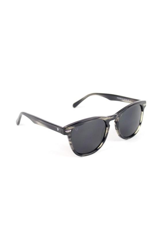 Gafas de sol con montura oscura - Negro Jaspeado