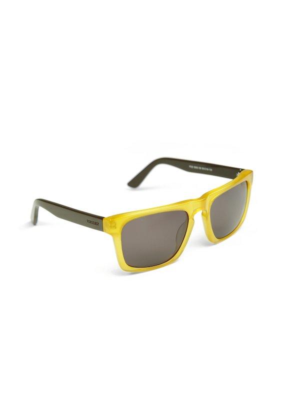 Gafas amarillas con patillas a contraste