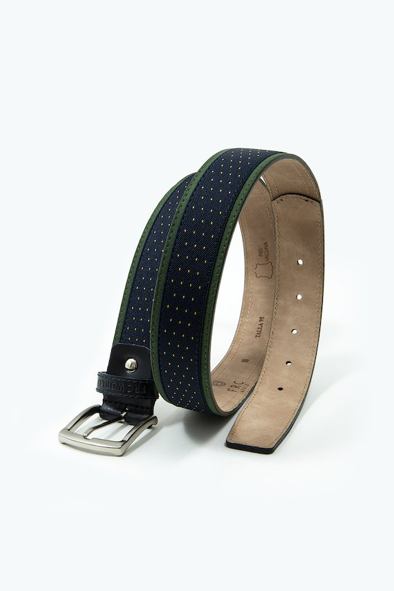 Cinturón con bordes a contraste - Verde