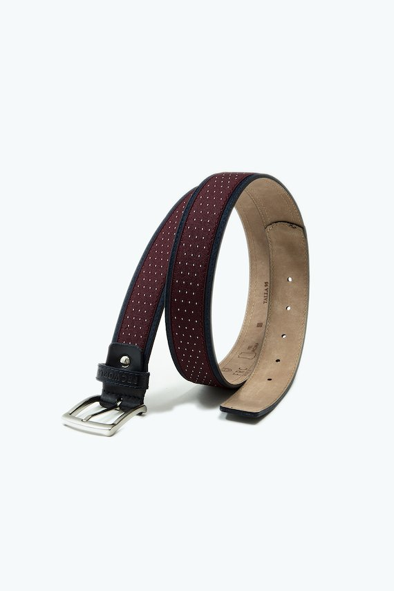 Cinturón con bordes a contraste