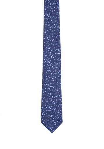 Corbata de lino fantasía