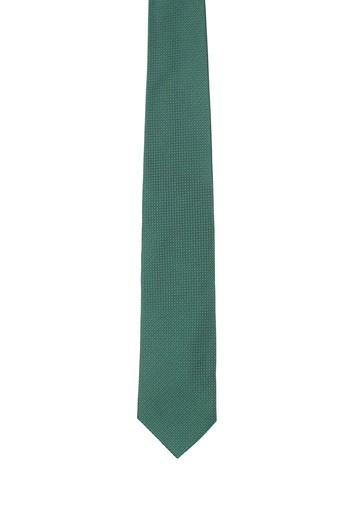Corbata verde microestructura
