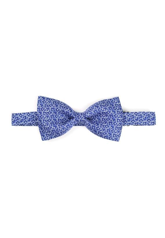 Pajarita de fantasía en blanco con fondo azul - Marino