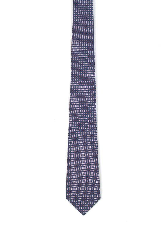 Corbata de seda marino - Marino