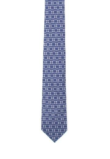 Corbata con estampado geométrico