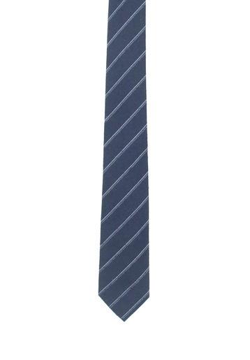 Corbata marino con rayas