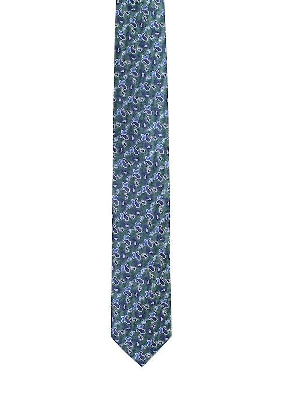 Corbata vestir amebas - Verde