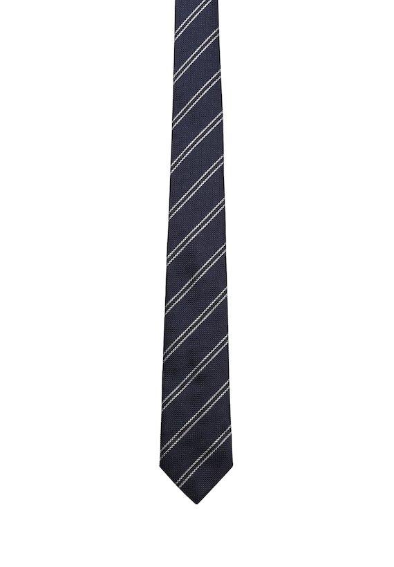 Corbata de rayas - Marino