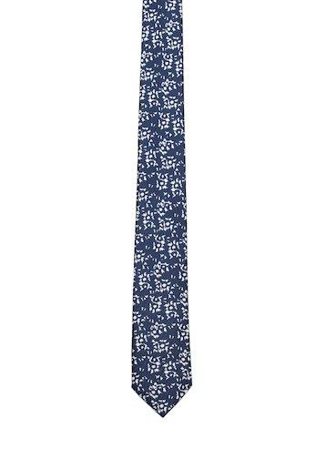 Corbata estampado en blanco