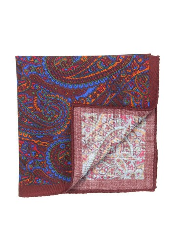 Pañuelo con estampado geométricos