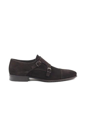 Zapato Monk de serraje