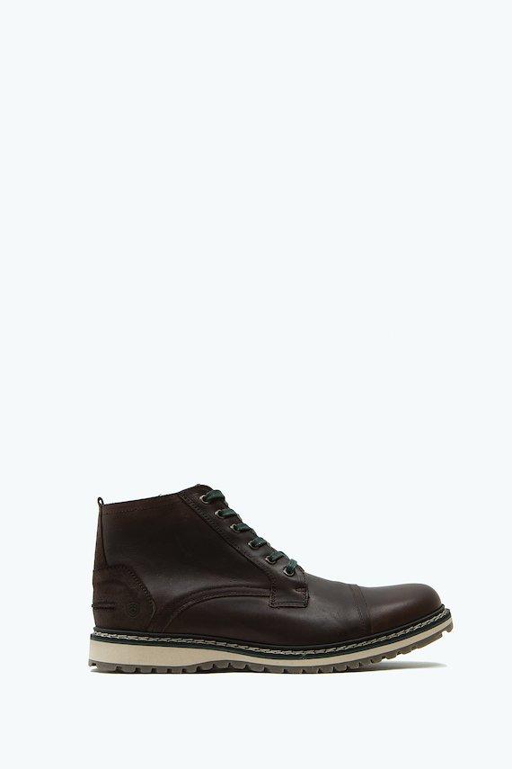 Zapato de piel - Marron