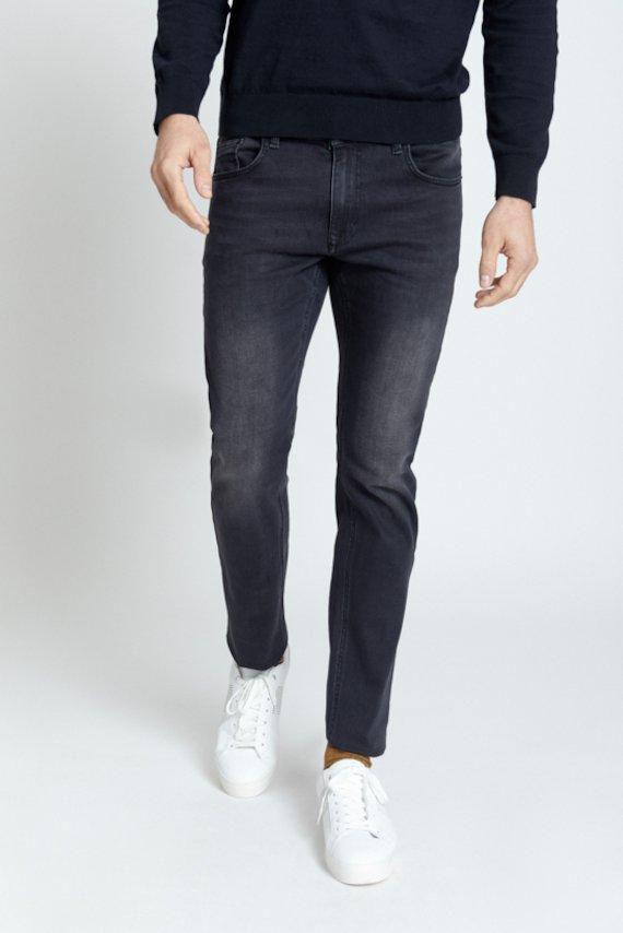 Pantalon vaquero slim - Negro
