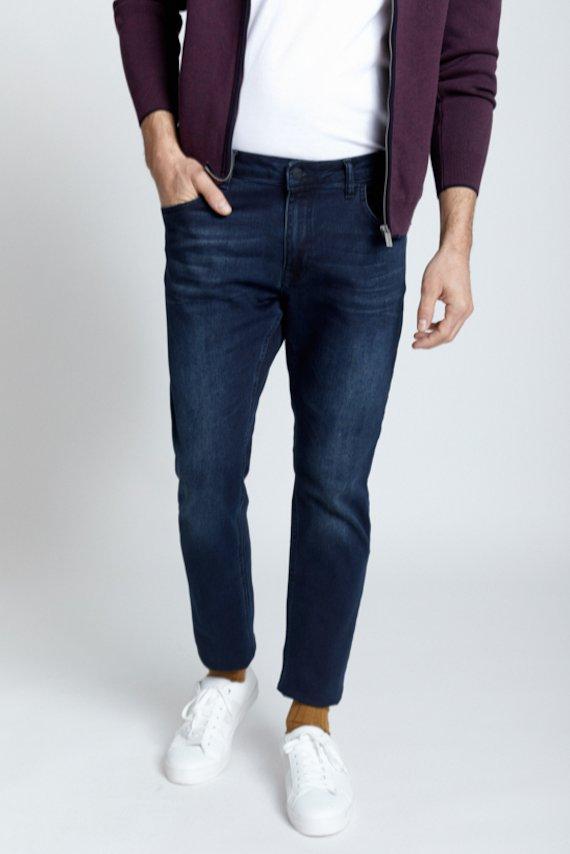 Pantalon vaquero slim - Marino
