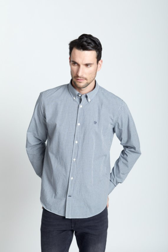 Camisa regular fit vichy