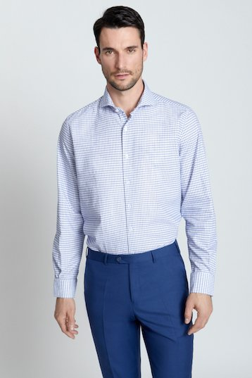 Camisa regular fit vestir