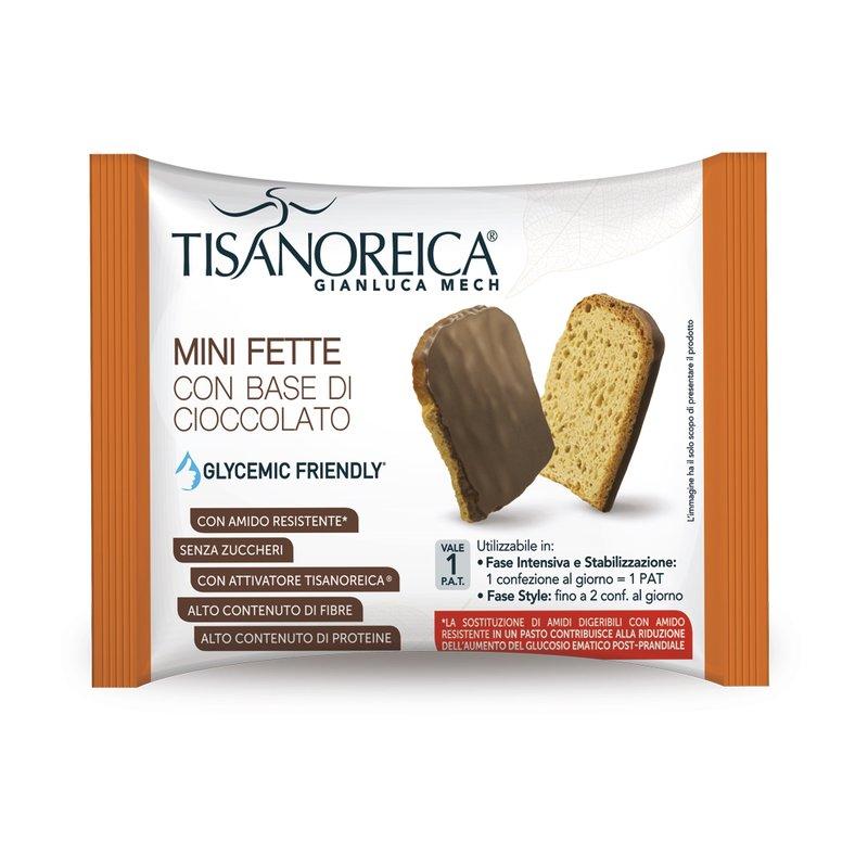 TOSTADAS MINI CON BASE DE CHOCOLATE (4 tostadas mini 40g)