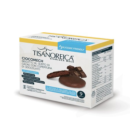 CHOCOLATE-COVERED COCOA CIOCOMECH GLYCEMIC FRIENDLY