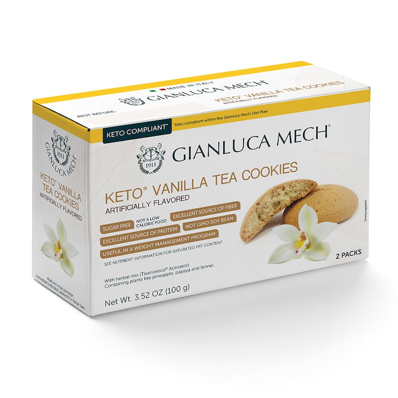 Vanilla-flavoured shortbread biscuits