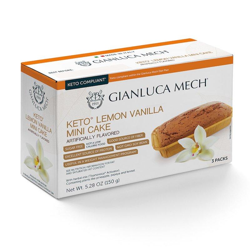 Lemon-and vanilla-flavoured pound cakes