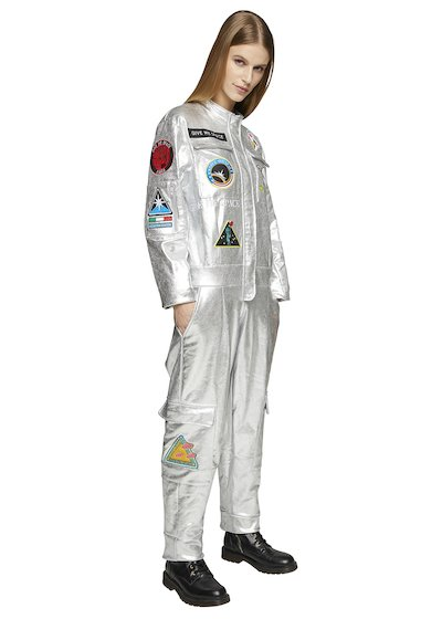 SPATIAL JUMPSUIT REFLECTING