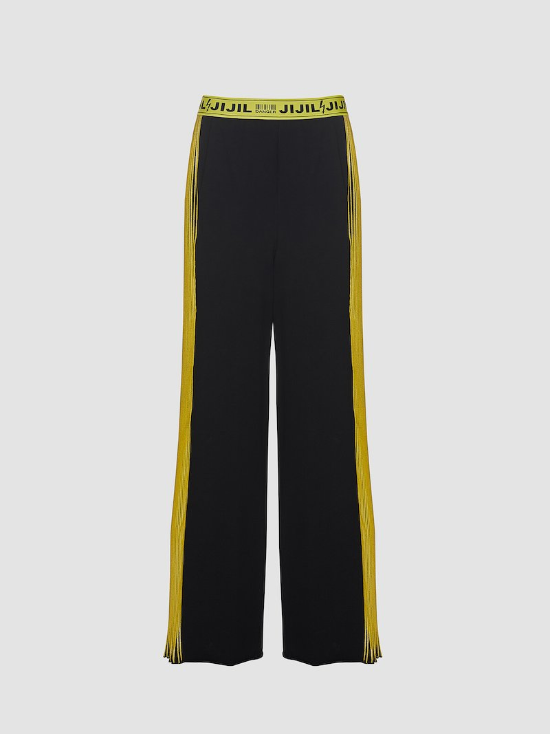 Lateral strip trousers