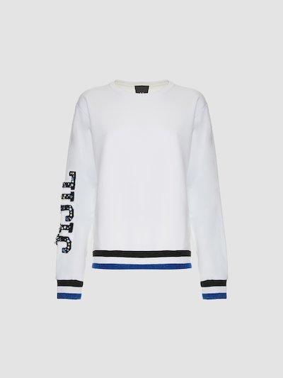 Sweatshirt with Jiijil embroidery