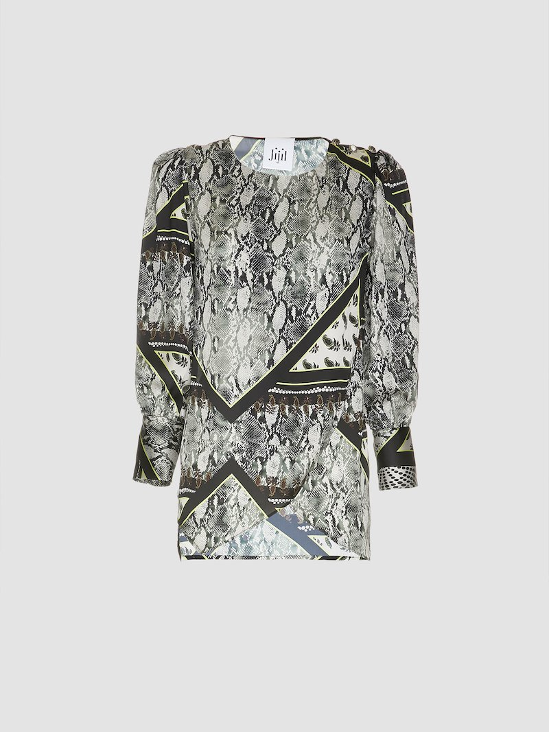 Pytgon printed blouse