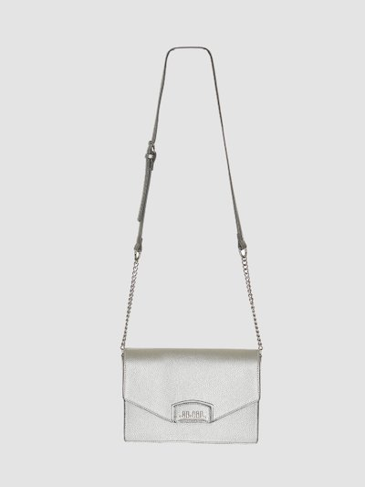Cross bosy mini-bag with logoed flap