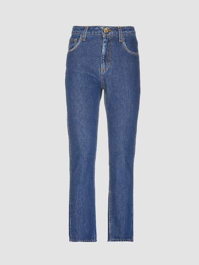 Jeans lavaggio rinse indaco