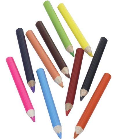 Chunky Triangular Coloured Pencils