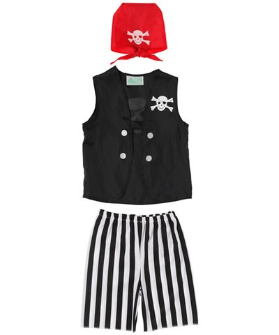 Pirate Crew Member Outfit 3yrs+