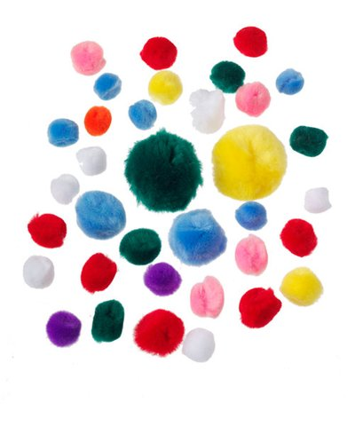 Colourful Pom Poms