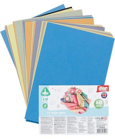 A4 Sugar Paper- 60 Sheets