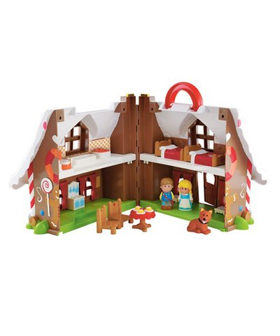 Happyland Gingerbread House