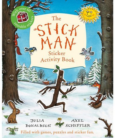 Stickman Sticker Activity Book